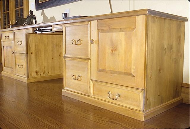 Knotty Pine Desk